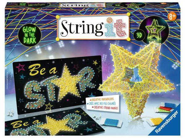 Jeux créatifs - string it maxi: 3d stars