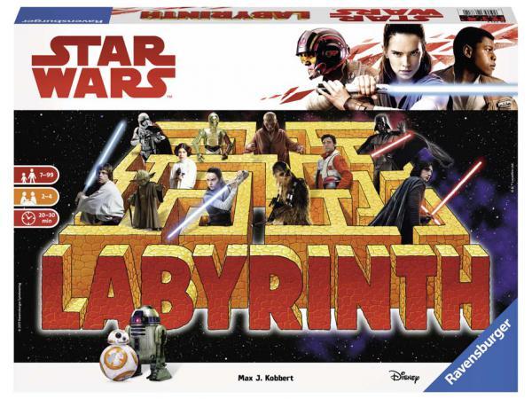 Jeu de société famille - jeu de réflexion - labyrinthe star wars vii
