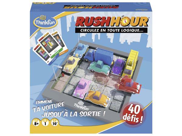 Jeux de société famille - thinkfun -rush hour (f)