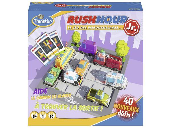 Jeux de société famille - thinkfun -rush hour junior (f)