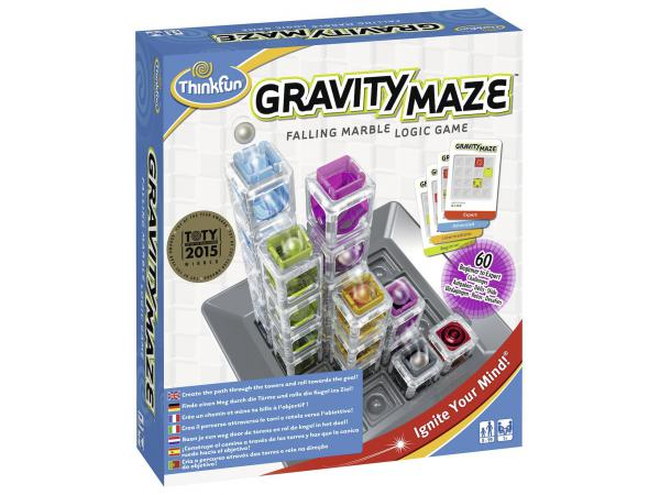 Jeu de société famille - thinkfun - gravity maze