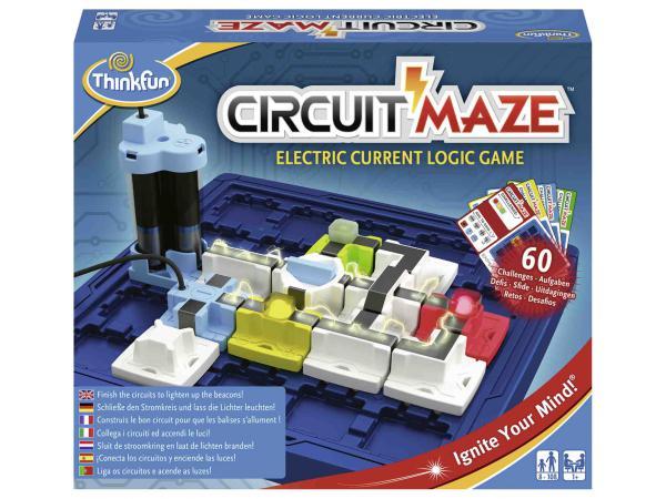 Jeux de société famille - thinkfun -circuit maze (international box)