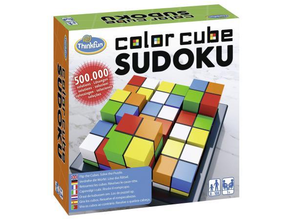 Jeux de société famille - thinkfun -color cubes sudoku (international box)