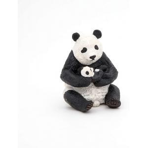 Papo - 50196 - Figurine Panda assis et son bébé (380438)