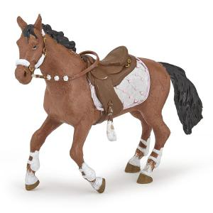 Papo - 51553 - Figurine Cheval de la cavalière fashion hiver (380584)