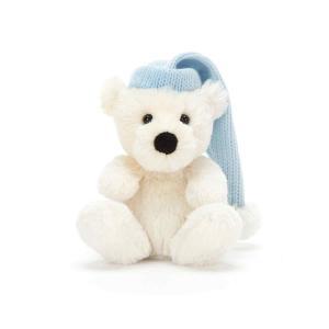 Jellycat - PB6PB - Poppet Polar Bear Baby 11 cm (380872)