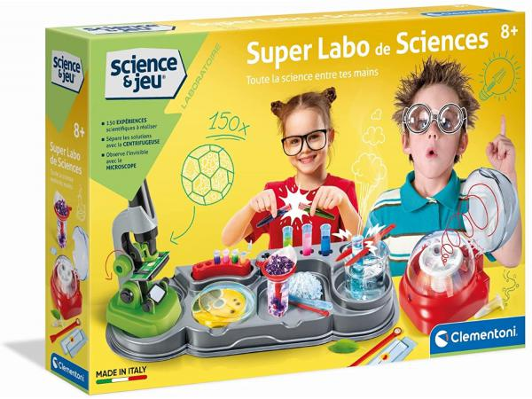 Jeux scientifique - super labo de sciences