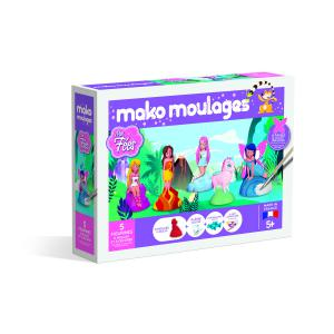 Mako moulages - 39024 - Mako moulages « Mes fées » Coffret 5 moules (381532)