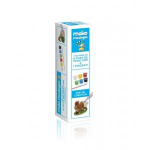 Mako moulages - 39027 - Kit recharge 6 pots de peint.  (381542)