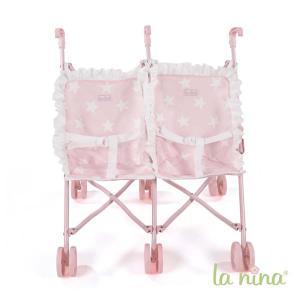 La nina - 62066 - Poussette double carlota (49x53x41 cm) (381752)