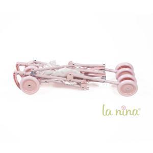 La nina - 62075 - Grande poussette meghan (34x62x42 cm) (381770)