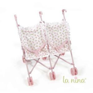 La nina - 62076 - Poussette double meghan (49x53x41 cm) (381772)