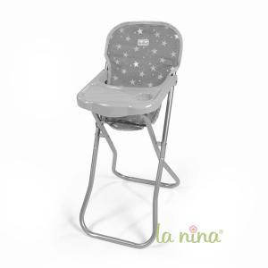 La nina - 62089 - Chaise haute mini gaby (27x61x35 cm) (381798)