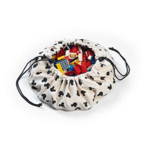Play and Go - 79980 - Mini sac de rangement Play and Go Mickey Black Disney (382480)