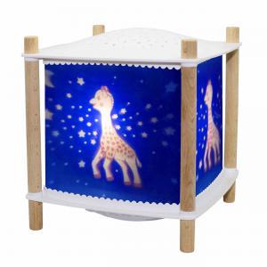 Trousselier - 6061BL - Veilleuse - Lanterne ReVOLUTION 2.0 - Sophie la girafe© - Bluetooth, Musicale, Détection des Pleurs & USB Rechargea (382768)