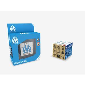 Megableu editions - 33805 - RubiK Cube Olympique de Marseille - 8 ans et + (383058)