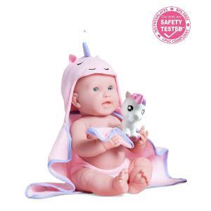 Berenguer - 18004 - Poupon Newborn nouveau né  sexué fille avec accessoires thème licorne (383262)