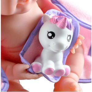 Berenguer - 18004 - Poupon Newborn nouveau né  sexué fille avec accessoires thème lapin (383262)