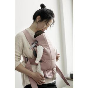 Babybjorn - 021014 - Porte-bébé Mini , Vieux rose, Coton (383396)