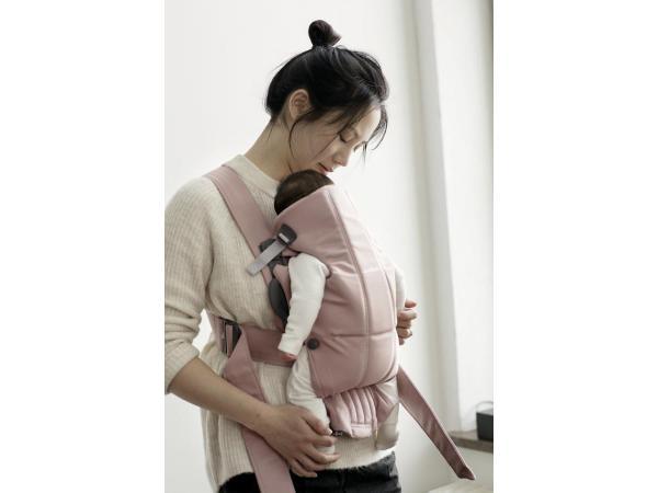Babybjorn - Porte-bébé Mini , Vieux rose, Coton b7732b719f6