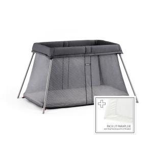 Babybjorn - 650013 - Lit Parapluie Anthracite + Drap-housse (383414)