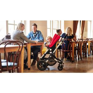 Bugaboo - 230155GM01 - Bugaboo Cameleon³plus base ALU Gris chiné (383444)