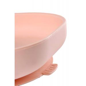 Beaba - 913431 - Assiette silicone ventouse light pink (384138)