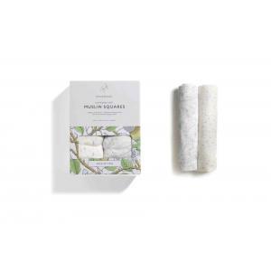 Storksak - SK0609 - Lot de deux langes imprimé jardin et pois - 70 cm (384356)