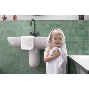 Storksak - SK0579 - Coffret Bain et gant de toilette imprimé pois (384360)
