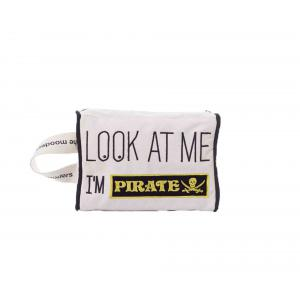 Mooders - BU152 - Trousse Moodcase écrue Patch PIRATE (384504)