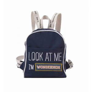Mooders - BU138 - Sac à dos Moodkid marine Patch WONDERMOM (384532)