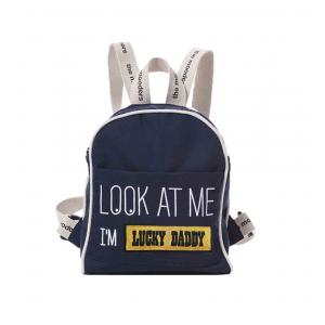 Mooders - BU123 - Sac à dos Moodkid marine Patch LUCKY DADDY (384562)