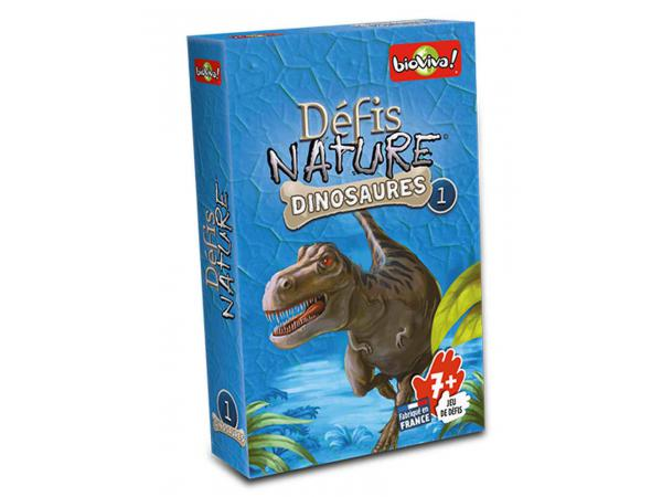 Défis nature - dinosaures 1 - age 7+