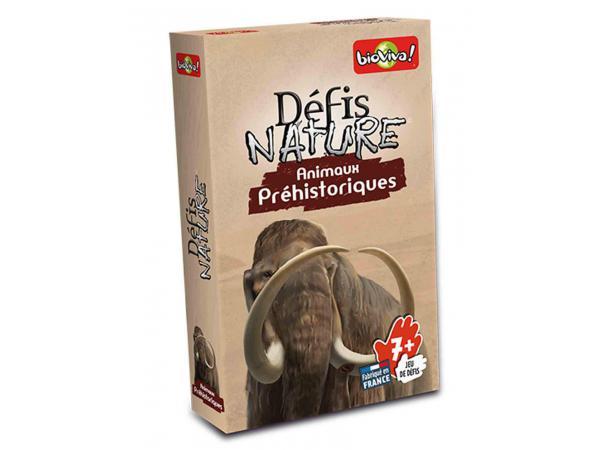 Défis nature - animaux préhistoriques - age 7+