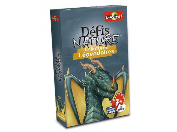 Défis nature - créatures légendaires - age 7+