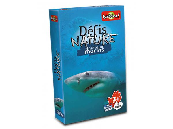 Défis nature - animaux marins - age 7+