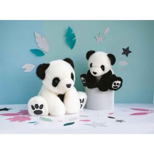 Histoire d'ours - HO2865 - Les animaux des grands espaces - Les So Chic - SO CHIC PANDA - blanc 17 cm (385744)