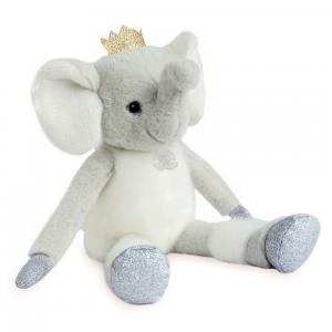 Histoire d'ours - HO2851 - Collection Happy Family - TWIST  - Elfy 35 cm (éléphant) (385886)