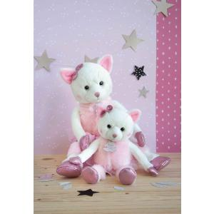 Histoire d'ours - HO2847 - Collection Happy Family - TWIST - Misty 35 cm (chat) (385894)