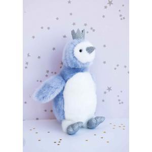 Histoire d'ours - HO2861 - Collection Je Rêve ! - PIGLOO bleu 30 cm (385916)