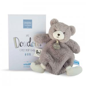 Doudou et compagnie - DC3407 - Doudou ours Unicef - 20 cm (385942)