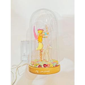 Mobilisation Générale - petit-01 - Veilleuse cloche Playmobil - Licornes - H20 cm x Diam.10 cm (385946)