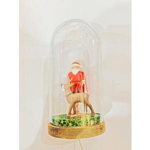 Mobilisation Générale - petit-03 - Veilleuse cloche Playmobil - Père Noël - H20 cm x Diam.10 cm (385950)
