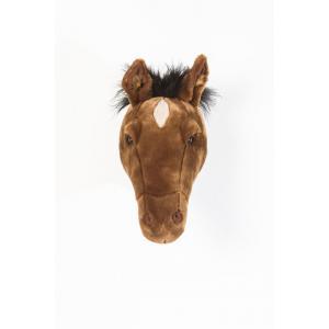 Wild and Soft - WS0034 - Tête cheval brun foncé Scarlett (386006)