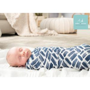 Aden and Anais - 9222G - silky soft maxi-langes seaport (386058)