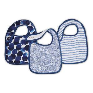 Aden and Anais - 7134G - Pack de 3 bavoirs - Seafaring (386074)