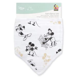 Aden and Anais - DISN800G - Bavoir bandana à l'unité - Mickey's 90th (386076)