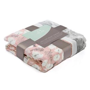 Aden and Anais - 9328G - Couverture de rêve en bambou - pretty petals (386088)