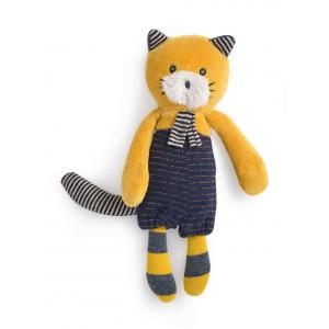 Moulin Roty - 666006 - Miniature chat moutarde Lulu Les Moustaches (386132)