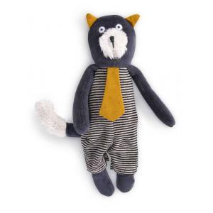 Moulin Roty - 666007 - Miniature chat gris Alphonse Les Moustaches (386134)